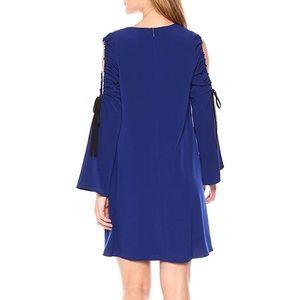 RACHEL Rachel Roy Dresses - Rachel Roy Cold Shoulder Tie Sleeve Shift Dress